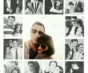 cory, glee, and rachel berry image
