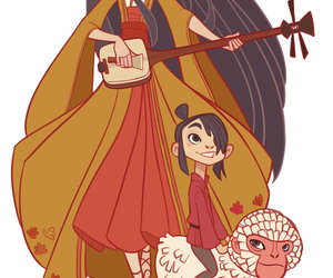 kubo, laika, and kubo and the two strings image
