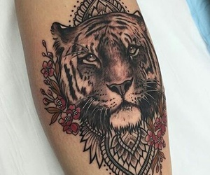 tiger tattoo image