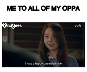 Korean Drama, meme, and oppa image