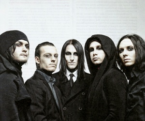 bands, black, and goth image