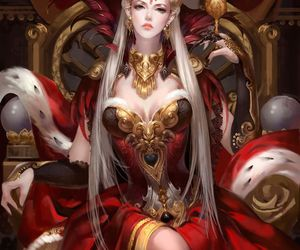 Queen, fantasy, and art image