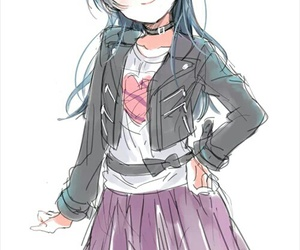 anime girl, love live, and love live sunshine image