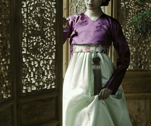 dress, traditional, and korean image