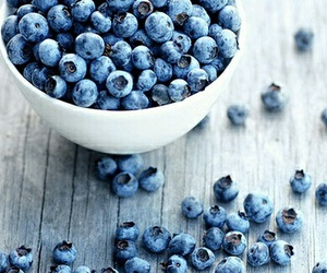 blueberry, food, and healthy image