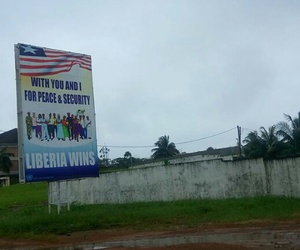 africa, travel, and liberia image