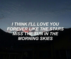 quotes, Lyrics, and sky image