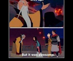 dumbledore, mulan, and harry potter image