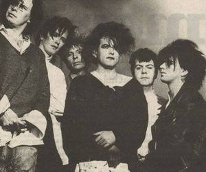 band, gothic, and the cure image