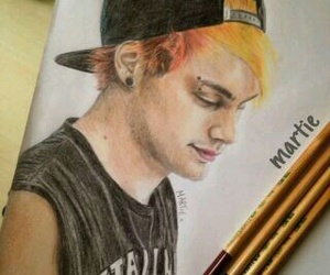 fanart, 5sos, and michael clifford image