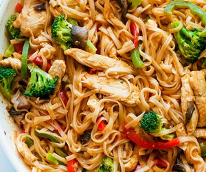 broccoli, Chicken, and chinese image