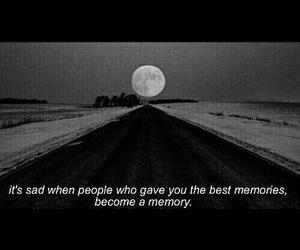memories, sad, and quote image
