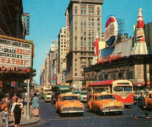 retro, vintage, and city image
