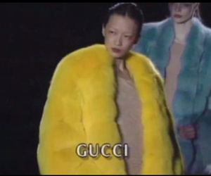 gucci, fashion, and yellow image