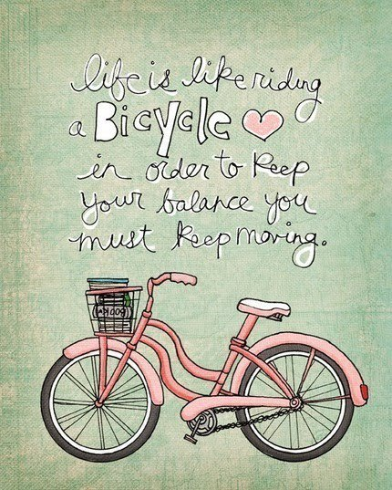 Bicycle Cute Happiness Life Love Inspiring Picture On Favim Com