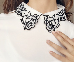 collar, look, and outfit image