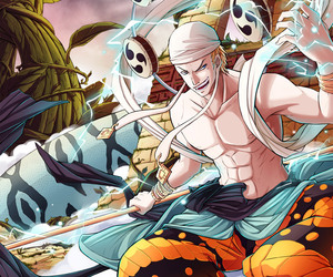 fanart, one piece, and enel image