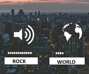 music, world, and rock image