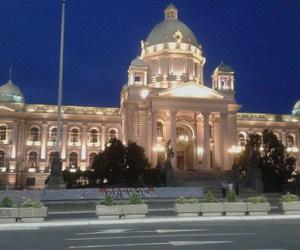 Belgrade, Serbia, and atnight image
