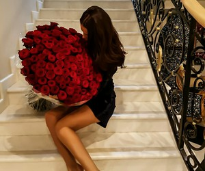 rose, love, and luxury image