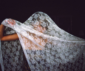 girl, lace, and photography image