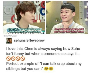 Chen, kpop, and meme image