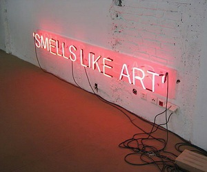 art, light, and neon image