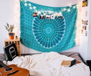 bedroom, boho, and indie image