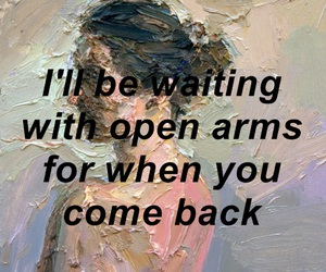love, art, and quote image