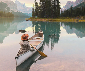 nature, lake, and travel image