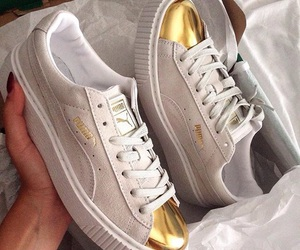 creepers, gold, and puma image