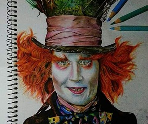 aliceinwonderland, drawing, and Halloween image