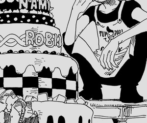 anime, one piece, and sanji image