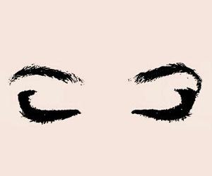 eyes, wallpaper, and pink image