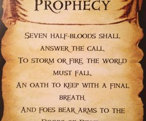 percy jackson, prophecy, and heroes of olympus image