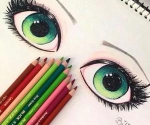 eyes green like new image