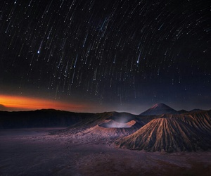 stars and mountains image