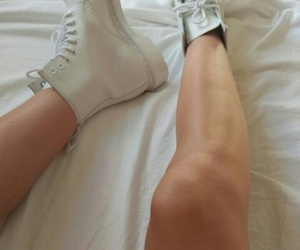 dr martens, style, and legs image