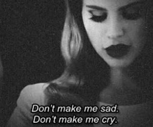 sad, cry, and lanadelrey image