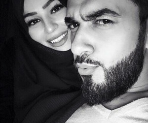couple, muslim, and cute image