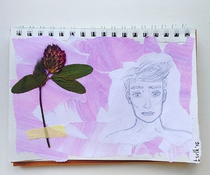 art, clover, and picture image