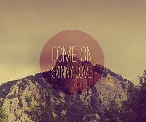 skinny love, love, and birdy image