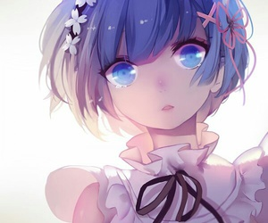 rem, anime, and re:zero image
