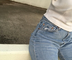 jeans, aesthetic, and tumblr image
