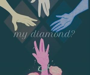 diamond, easel, and pink diamond image
