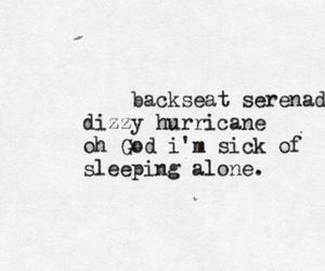 all time low, alone, and backseat image