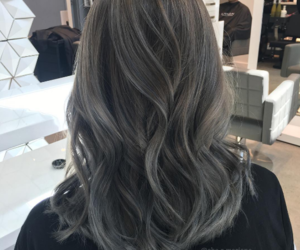 dyed, gray, and hair image