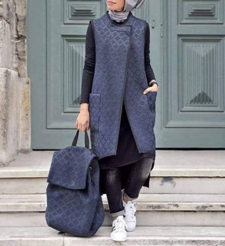 Modest Sporty Hijab Style Shared By Just Trendy Girls