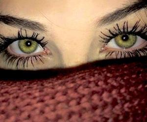 beautiful eyes, eye, and eyelashes image