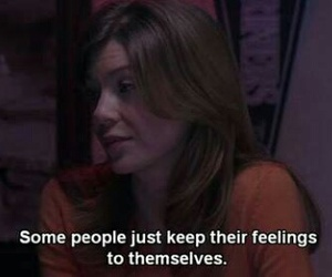 feelings, quote, and grey's anatomy image